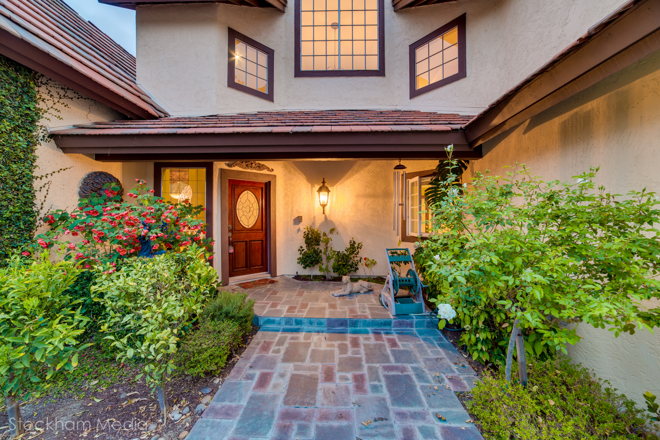 san diego real estate photography Encinitas California house front door